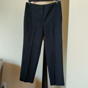 Black Ankle length Talbot's Petite Dress Pant